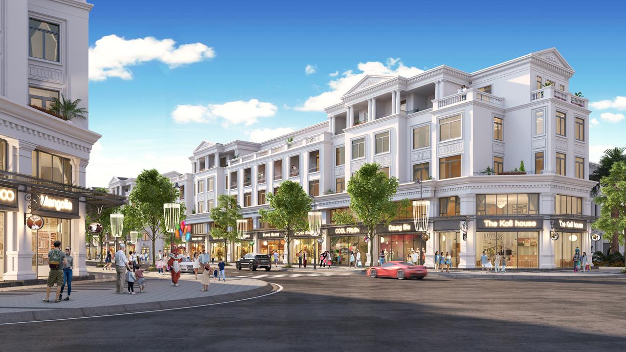Shophouse dự án Dream City Văn Giang có nhiều tiềm năng đầu tư