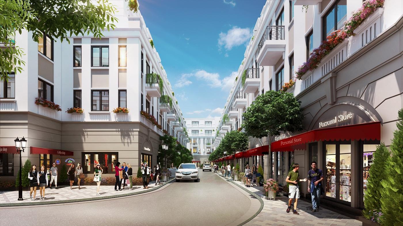 Khu đô thị Vinhomes Văn Giang - Dream City có thiết kế hiện đại