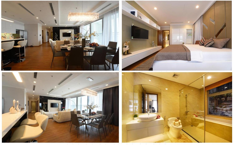 Có nhiều loại căn hộ khác nhau ở Vinhomes Dream City Văn Giang