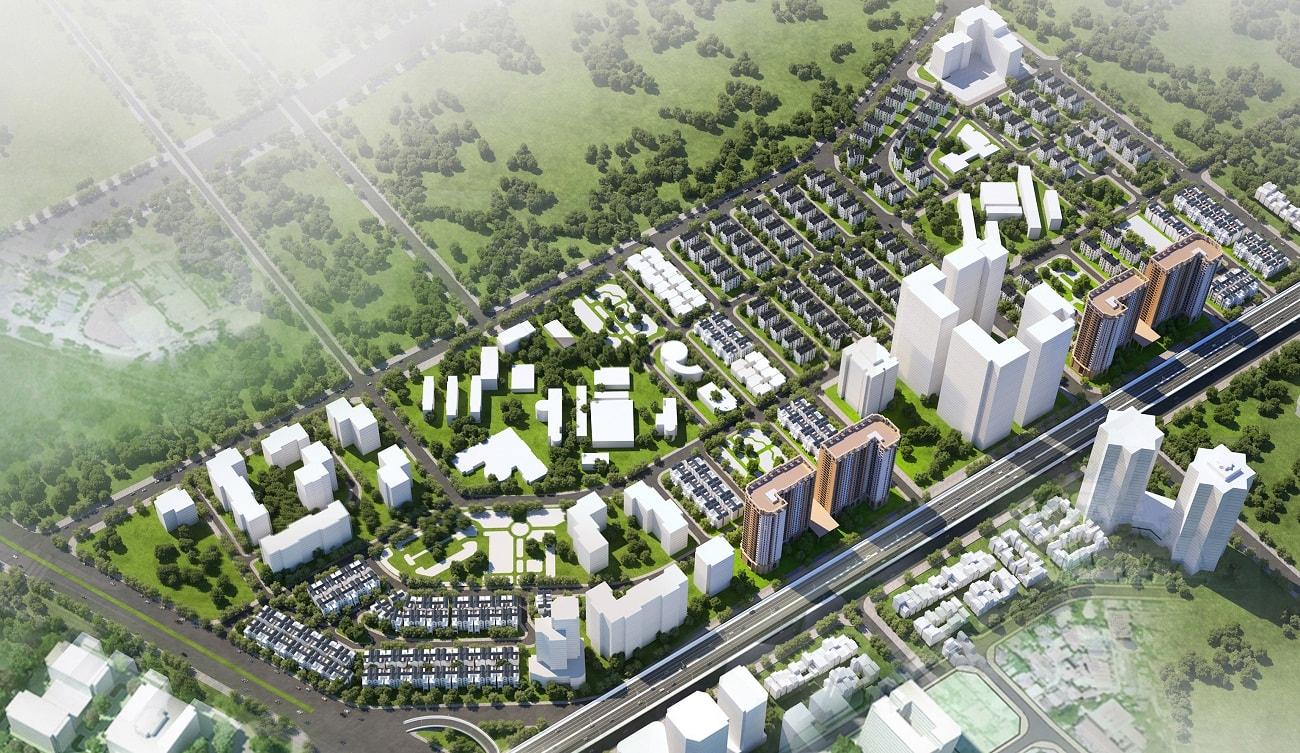 Mặt bằng căn biệt thự dự án dream city văn giang làm nhiều người tò mò