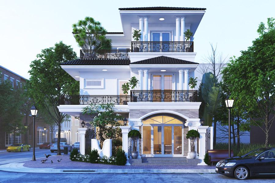Biệt thự Dream City Văn Giang có thiết kế cực sang trọng