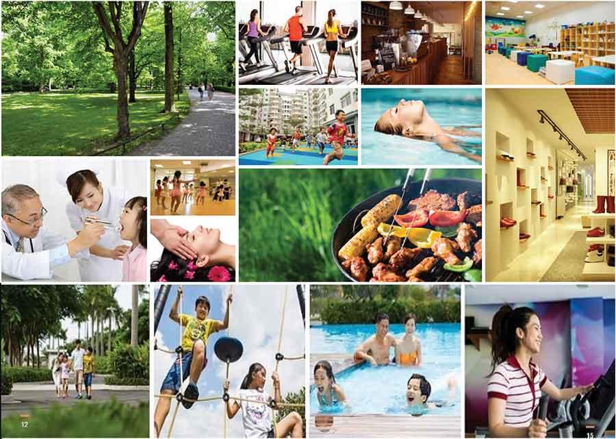 Biệt thự Dream City Văn Giang có nhiều dịch vụ hoàn hảo