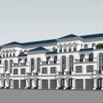 Diện tích nhà liền kề trong khu đô thị Dream City Văn Giang là bao nhiêu ?