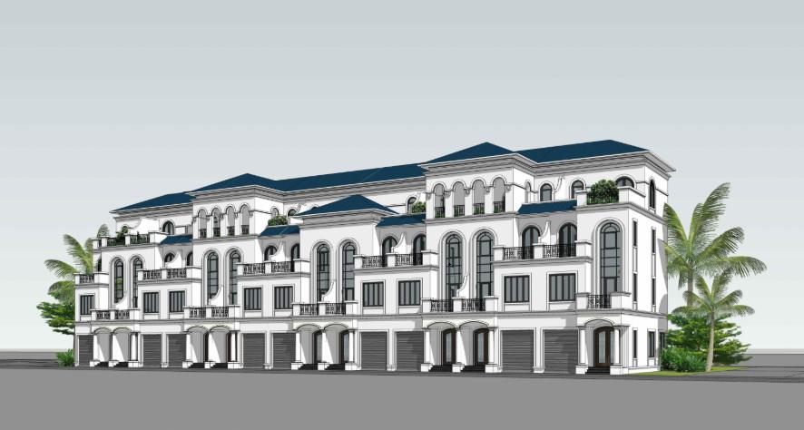 Diện tích nha liền kề dự án Dream City Văn Giang