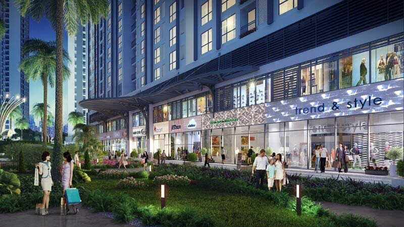 Shophouse dự án Dream City Văn Giang có nhiều điểm nhấn vượt trội