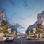 Giá bán nhà phố shophouse dự án dream city văn giang là bao nhiêu?
