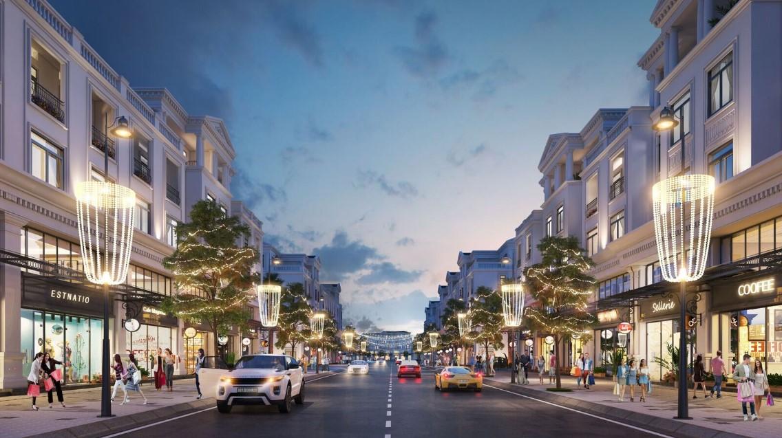 Shophouse tại dự án Dream City Văn Giang cực kỳ thuận tiện