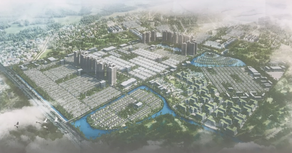 Phối cảnh toàn thể khu đô thị Dream City