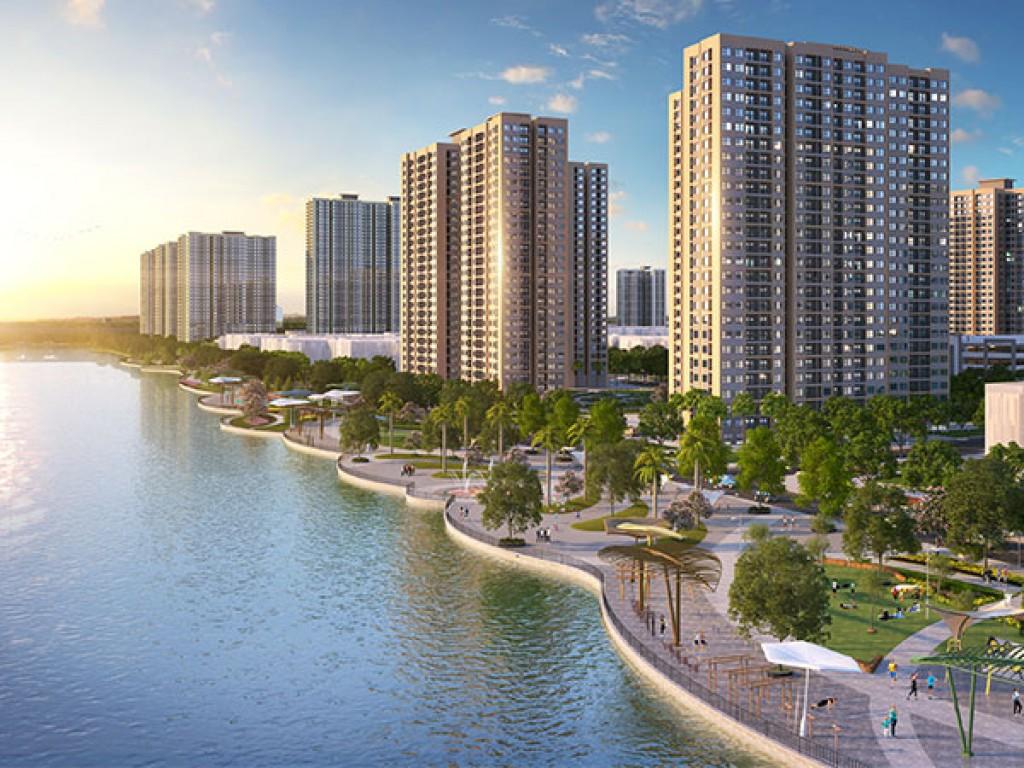 Một góc chung cư tại Dream City Văn Giang